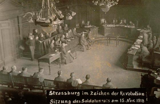 Заседание Страсбургского Совета